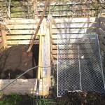 Kompostumsetzen im April