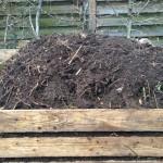 Umgesetzer Kompost mit Abdeckung