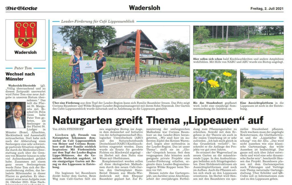 Berichterstattung über Baumhoers Lippeauenblick